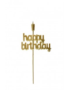 """Topper """"Happy Birthday""""..."""
