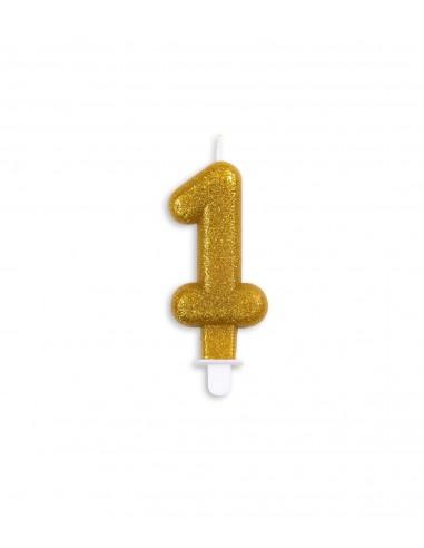 Vela núm. 1 dorada